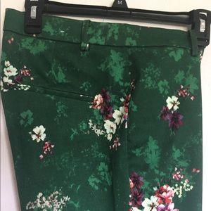 H&M Pants - New!! H&M women's flower's pant's size 14 stretch